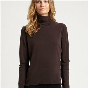 Eileen Fisher | 100% Silk turtleneck long sleeve